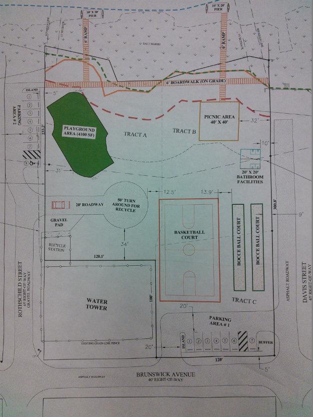 Bridgeview Park - map CR